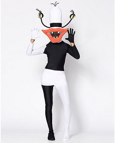 Adult One Piece Oblina Costume - Aaahh!!! Real Monsters - Spencer's