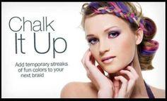 Chalk it up - get your pigments today - www.3DLashesnow.com