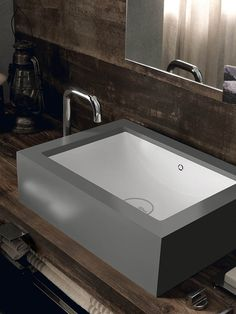 Portraits of Life - Rustic Chic  New DuPont™ Corian® Bathroom Collection