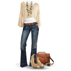 Cropped Sweater by cynthia335 on Polyvore