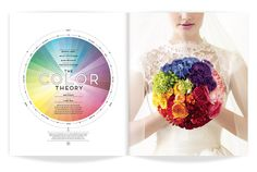 bouquet by @Sidra Forman  ★ DESIGN ARMY – Washingtonian Bride & Groom: Color Theory (Editorial Design and Art Direction) © Design Army LLC