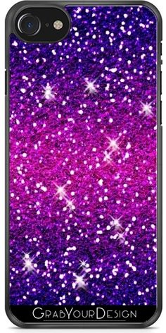 GrabYourDesign - Case for Samsung Galaxy Note 4 Glitters Sparkles Purple Pink - by Galaxy Note 4, Galaxy S7, Cool Iphone Cases, Samsung Galaxy S5, Glitters, Sparkles, Purple, Pink, Iphone 7