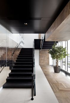 Broccolini Construction – Montreal Offices designed by Rubin & Rotman Architects