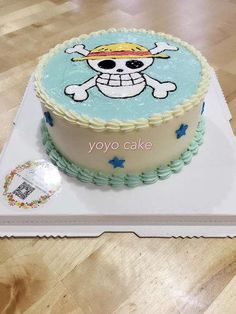 ONE PIECE -Cake idea for people who love the Anime - Cocomew is to share cute outfits and sweet funny things Anime Cake, Bithday Cake, One Piece Series, Travel Cake, Hello Kitty Cake, Candy Cakes, One Piece Anime, Love Cake, Cute Cakes