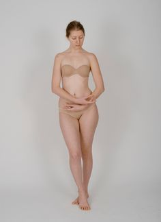 Body Reference - Standing - Delicate Hands by Danika-Stock