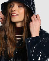 Chubasquero básico de mujer Easy Wear con capucha