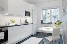 20 de modele de bucatarii mici: inspiratie pentru propria amenajare- Inspiratie in amenajarea casei - www.povesteacasei.ro