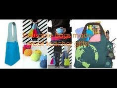▶ Reusable, Shopping bags - Best Teacher Gifts - YouTube