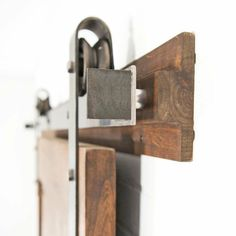 """If you've investigated rustic """"barn"""" doors, you've probably gotten sticker shock. But we can help, we'll show you how to build a barn door. Sliding Barn Door Hardware, Sliding Doors, Rustic Barn, Barn Wood, Hanging Barn Doors, Building A Barn Door, Wie Macht Man, Unusual Homes, Old Barns"""