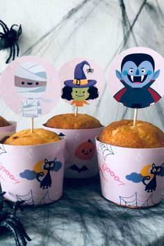 Don't miss this spooky Halloween party! The cupcakes are wonderful! See more party ideas and share yours at CatchMyParty.com #catchmyparty #partyideas #halloween #halloweenparty #halloweencupcakes