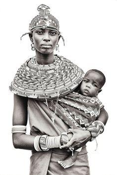 Samburu, Kenya. Mario Gerth Baby wearing!