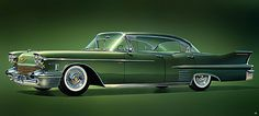 1958 ... Cadillac  'When cars became rockets to our dreams...' by x-ray delta one, via Flickr