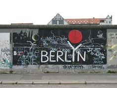 German Language Course in Berlin East Germany, Berlin Germany, Tear Down This Wall, Attraction, Places Ive Been, Places To Go, Graffiti, East Side Gallery, Student Travel