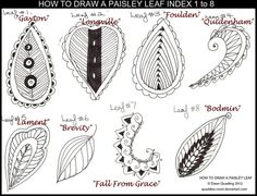 HOW TO DRAW A LEAF INDEX 1 to 8 by Quaddles-Roost on DeviantArt