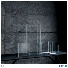 A series of vases made from extra light transparent glass from Glas Italia . . . . . #design #productdesign #designinspiration #product #productinspiration #chair #glasitalia #glasitaliadesign #intetiordesign #interiorinspiration #productoftheday #interiorstyling #pierolissoni #mirror #instagood #instadesign #instadaily #home #homedecor #homedecoration #qualityliving #art #artofdesign #findyourinnerexpression #LAFLO Glass Furniture, Modern Furniture, Italia Design, Interior Styling, Objects, Display, Bathtub, Vases, Chair