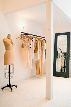 """A Fashion Queen's L.A. Cheat Sheet #refinery29  http://www.refinery29.com/rumi-neely-los-angeles-guide#slide2  For Designer Vintage Gems: Scout""""It has extremely curated, beautiful, and really unique vintage pieces — like vintage Comme des Garçons. It's a little bit pricey, for sure. It's good for getting one really special dress.""""Scout, 8021 Melrose Avenue (near North Laurel Avenue); 323-461-1530."""