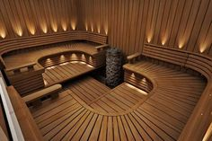35 The Best Home Sauna Design Ideas You Definitely Like - No matter what you're shopping for, it helps to know all of your options. A home sauna is certainly no different. There are at least different options. Spa Interior, Salon Interior Design, Beauty Salon Interior, Interior Garden, Saunas, Spa Design, House Design, Design Ideas, Garden Design
