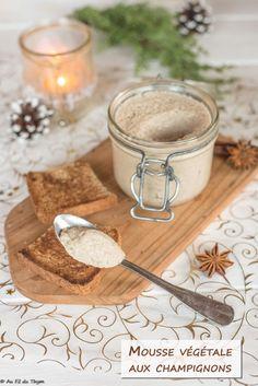 Mousse végétale aux champignons (apéritif végétalien) Creme, Gluten, Sandwiches, Food And Drink, Veggies, Healthy Recipes, Dip, Foodies, Detox