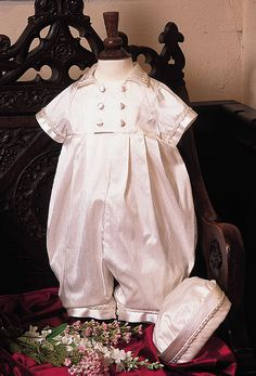 c254199a5 Heirloom Christening Romper Collection > Boys Christening Gowns > Boys Baptism  Gowns > Baptism Clothes >