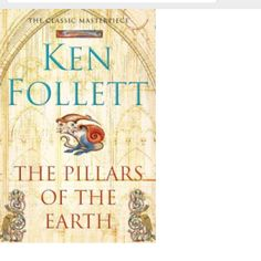 Pillars of the Earth by Ken Follet.  Looks like this will be one of my favorite books.  The author had me at the prologue.