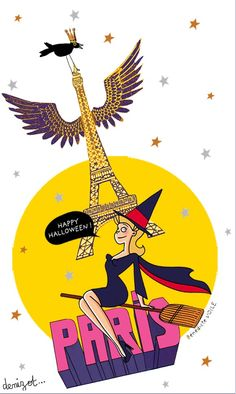 PARIS HALLOWEEN Bénédicte Voile et Marie-Pierre Denizot