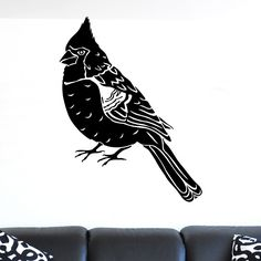 nice Jay Bird Wall Sticker