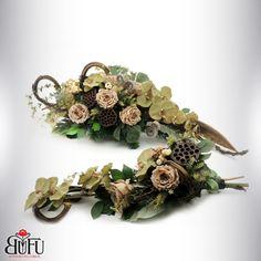 Święto zmarłych 2016 | Bu-Fu Kompozycje kwiatowe Funeral Flowers, Crown, Bonsai, Advent, Jewelry, Festivus, Events, Corona, Jewlery