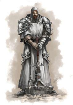 Holy Cleric of Titanbolzen.deviantart.com on @deviantART