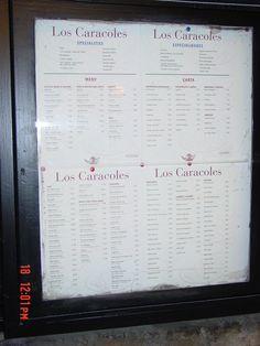 A great Restaurant on Las Ramblas