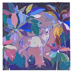 "Saatchi Art Artist Charlotte Evans; Painting, ""buck"" #art"