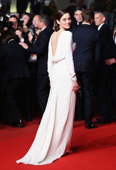 Marion Cotillard in Christian Dior - Red Carpet Dresses at Cannes 2013 - Harper's BAZAAR