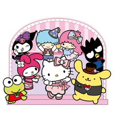My Melody Sanrio, Hello Kitty My Melody, Birthday Cartoon, Hello Kitty Birthday, Hello Kitty Wallpaper, Car Window Decals, Sanrio Characters, Little Twin Stars, Kawaii Cute