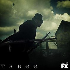 TH0158 - Taboo (2016) - TV Mini-Series / Tom Hardy as James Keziah Delaney. James Keziah Delaney returns to 1814 London after 10 years in Africa to discover that he has been left a mysterious legacy by his father. Driven to wage war on those who have wronged him, Delaney finds himself in a face-off against the East India Company, whilst playing a dangerous game between two warring nations, Britain and America. Stars: Tom Hardy, David Hayman, Jessie Buckley