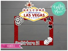 This listing is for ONE personalized vegas cutout photo frame prop.   ➤ DESCRIPTION   DESIGN NAME: Vegas#1 MATERIAL: Coroplast  The frame is digital printed in a lightweight and durable 4mm plastic material, is also weather resistant so you can use it outdoors too!   ➤ SIZE   We have 4 sizes: • 18 x 24 (up to 2 people) • 27 x 36 (up to 4 people) • 31 x 42 (up to 6 people) • 36 x 48 (up to 10 people)  These sizes are for the rectangular part only, the sign adds 8-14, depending on the size you…