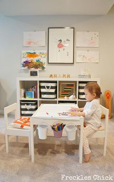 Basement reno: Quinn's Playroom