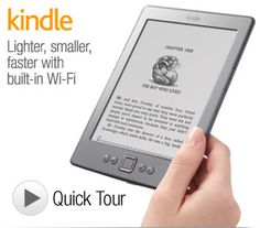 """Kindle e-Reader with Wi-Fi, 6"""" Display"""