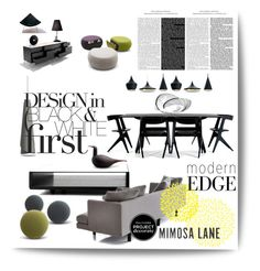 Classic Eclectic With a Modern Edge With Mimosa Lane II by betiboop8 on Polyvore featuring interior, interiors, interior design, home, home decor, interior decorating, Bensen, Tom Dixon, Montis and Knoll