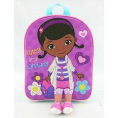 7c31c703083 Doc McStuffins Toddler School Backpack Children Kids Toddler Backpack