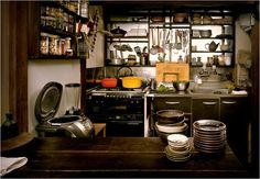 I would love to have a solid, hard-working Japanese kitchen exactly like this one :))