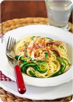 Spaghetti con Agretti
