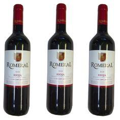 Vin Rioja Romeral Rouge 75Cl 12,5º - LOT DE 3