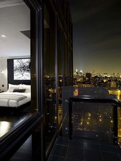 Manhattan Penthouse with a view #manhattan #penthouse #interiors