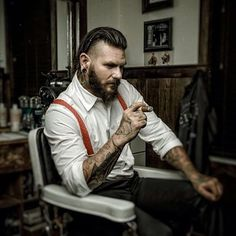 The ruggedly handsome Travis Cadeau.   27 Men's Undercuts That Will Awaken You Sexually www.whatstrending.co.za