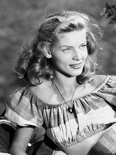 We Had Faces Then — Lauren Bacall, 1949