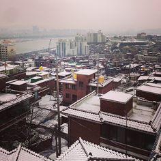 jang_jae_min / 눈이눈#눈 / 서울 용산 한남 / #골목 #동네 #지붕 / 2014 01 21 /