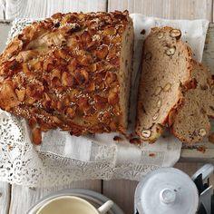 Rezept für Knuspriges Apfelbrot | Küchengötter