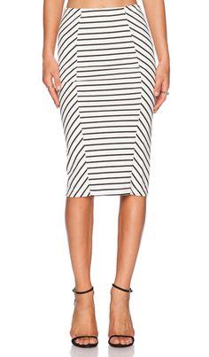 BB Dakota Belden Skirt in White | REVOLVE