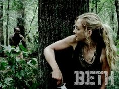 Beth^^cant wait to see badass beth in season 5!
