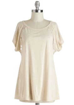 Breakfast in Bed-Stuy Top in Oatmeal, #ModCloth. This looks soooo cozy and I would like it for Christmas ;D