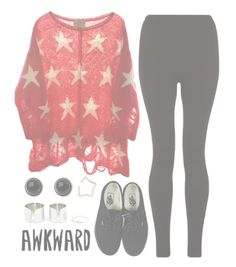 """""""//The edge//"""" by alex-bows ❤ liked on Polyvore featuring Kismet by Milka, Wildfox, Vans and Adele Marie"""